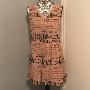 UMGEE print dress large NWT
